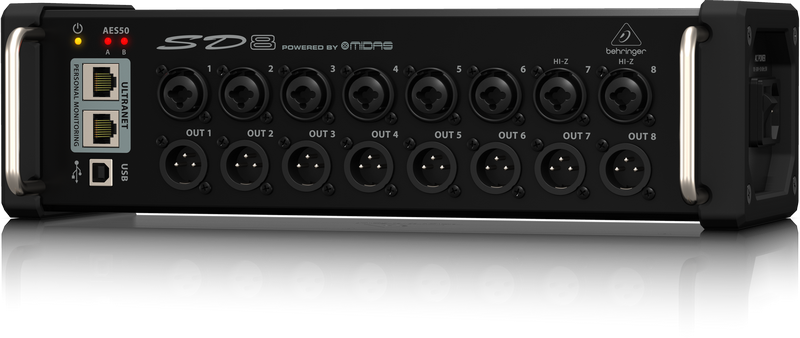 Behringer SD8 - Digital Stagebox Image