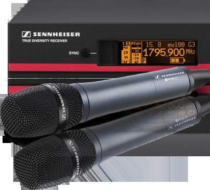 Sennheiser ew100 G3 - 935 Vocal Set - E-Band Image